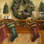 Decorative Christmas Mantel