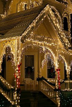Коледна украса за къщата външно осветление