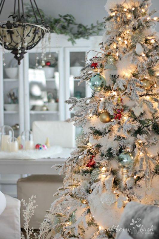 Коледна украса за къщата коледната елха