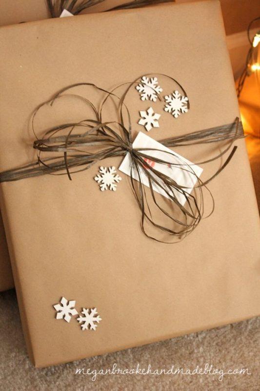 коледна украса за подаръците