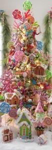 оригинална коледна елха бонбони